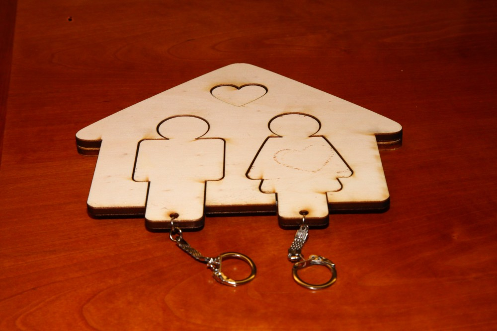 His U0026 Hers Key Holder